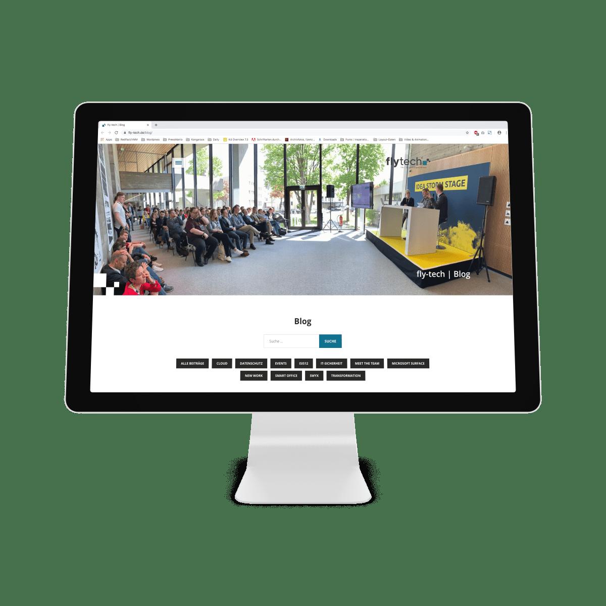 Content Marketing_flytech_Website