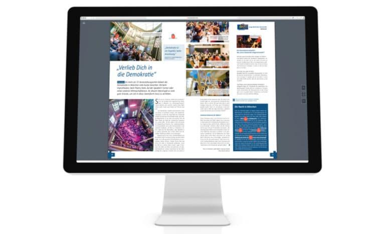 """Digitalmagazin """"Werte Leben"""" zur Langen Nacht der Demokratie"""