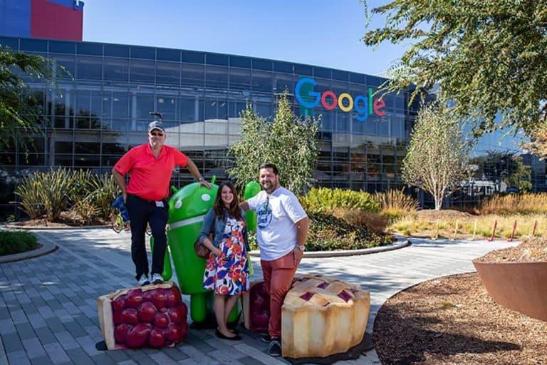 vmm wirtschaftsverlag zu Gast bei Google im Silicon Valley