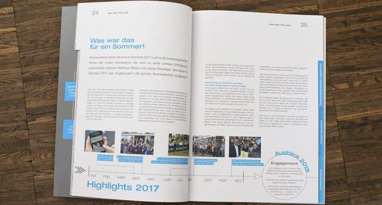 swa Geschäftsbericht 2017: Das sind wir