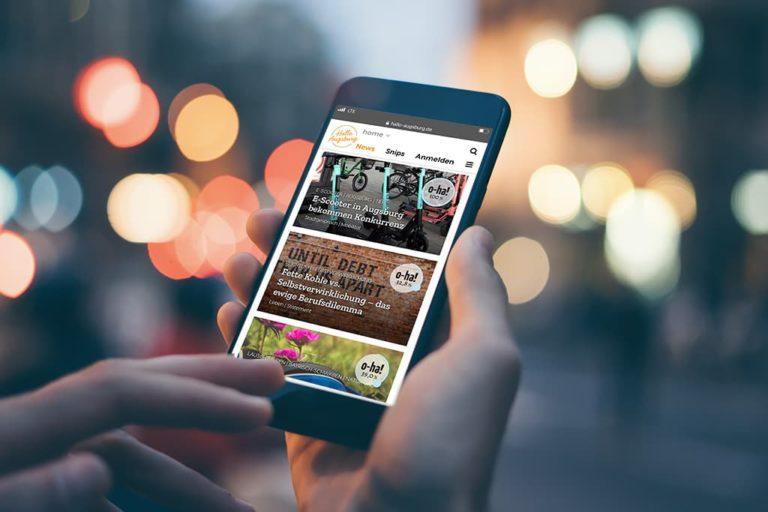 Das Startup Hallo Augsburg und vmm digital arbeiten künftig zusammen