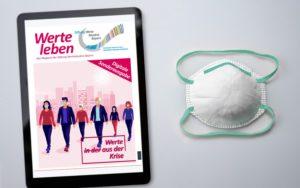 Wertebündnis Bayern: Digitalmagazin Werte aus der Krise